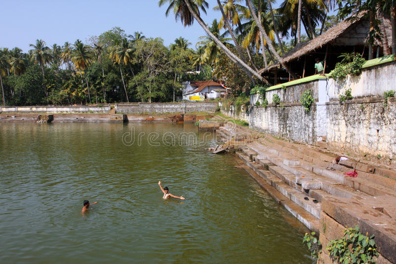 Download Water Pool Near The Hindu Temple Editorial Stock Image - Image: 23600999
