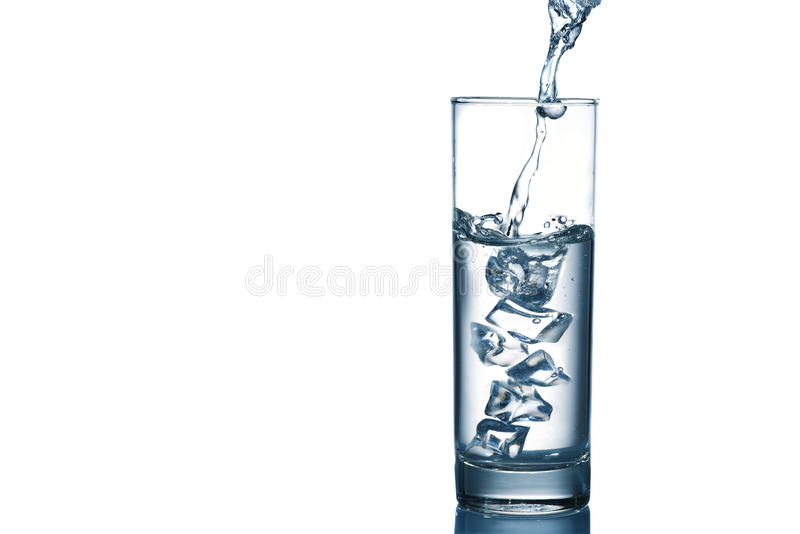Download Water pouring stock image. Image of glassware, copyspace - 34944813
