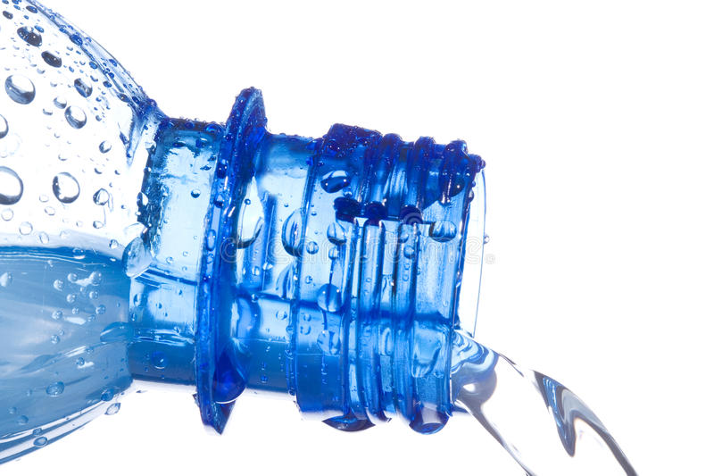 Download Water Pouring Down From Plastic Bottle Stock Photo - Image: 16165668