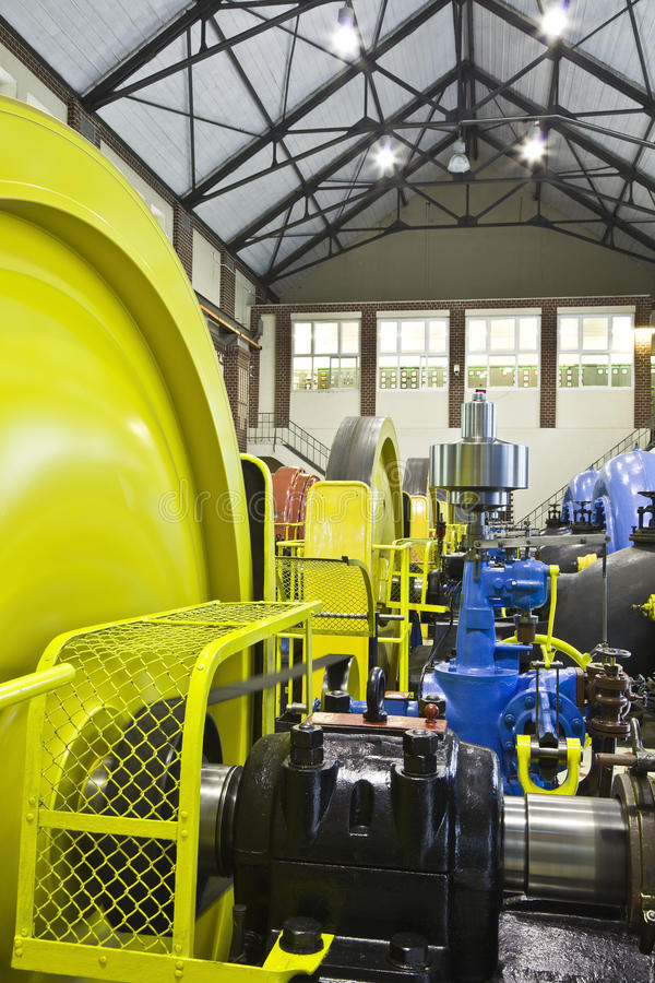 Download Water power plan stock photo. Image of rotating, hydraulic - 23493958