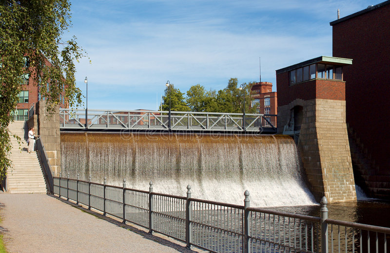 Water power plant royalty free stock photography
