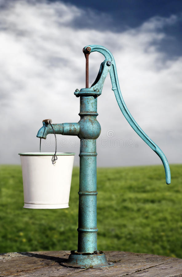 Download Water pump stock photo. Image of outdoors, water, field - 19292428