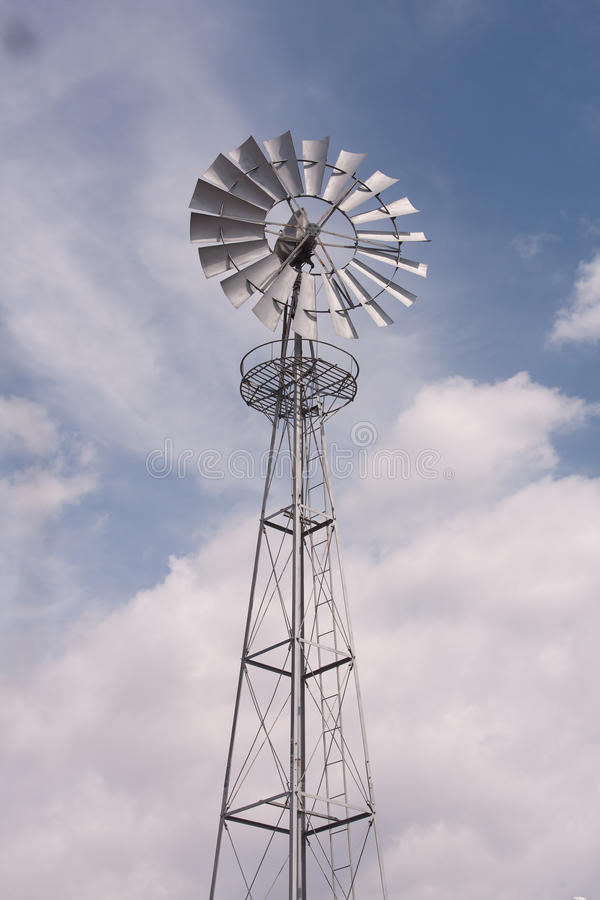 Download Water pump powered by wind stock photo. Image of energy - 26637214