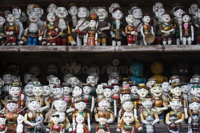 Download Water Puppets stock photo. Image of historic, mass, balance - 7117858