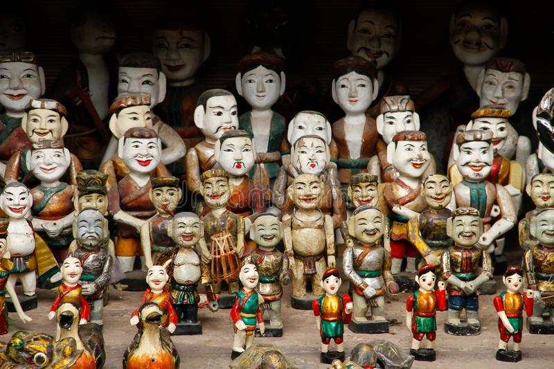 Water Puppets for sale royalty free stock photography