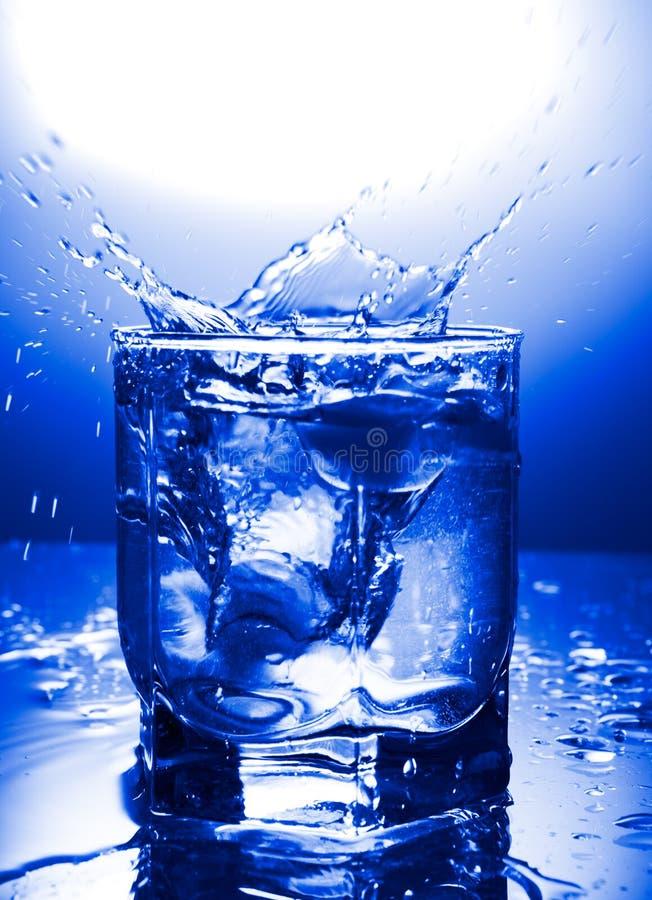 Water refreshing royalty free stock image