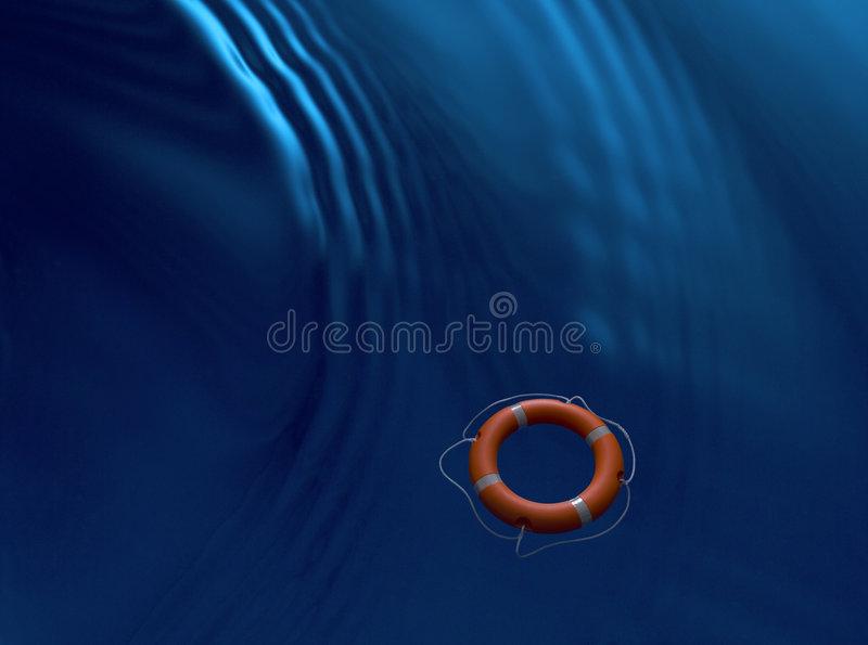 Water Rescue Ring Lifebuoy Business Royalty Free Stock Photos