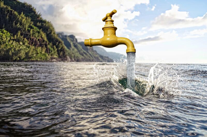 Water, Water Resources, Sea, Sky stock photo
