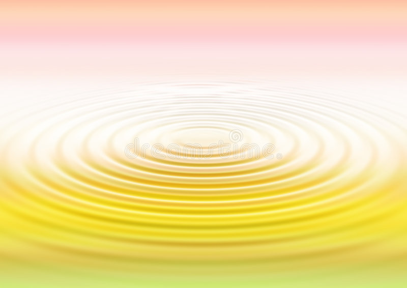 Water ripples - gradation. Water ripples in gradation background stock illustration