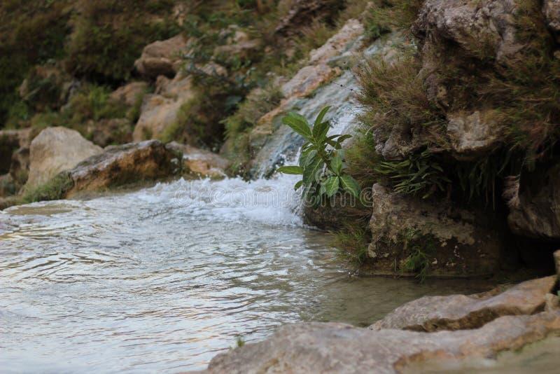 River Waterfall Sri Gethuk in Yogyakarta stock images