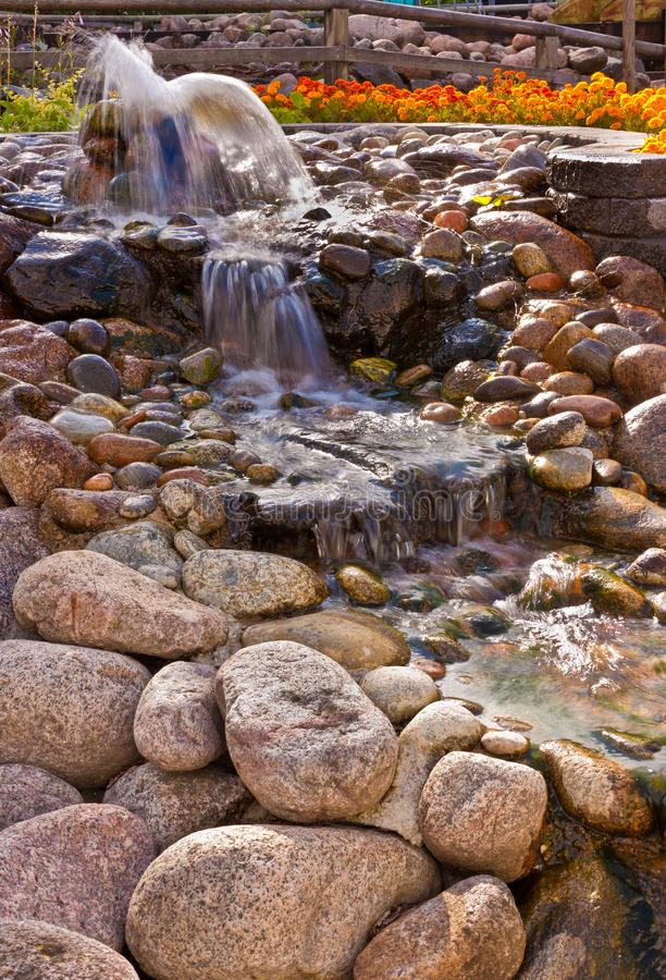 Download Water and rocks stock photo. Image of outburst, boulder - 15763594