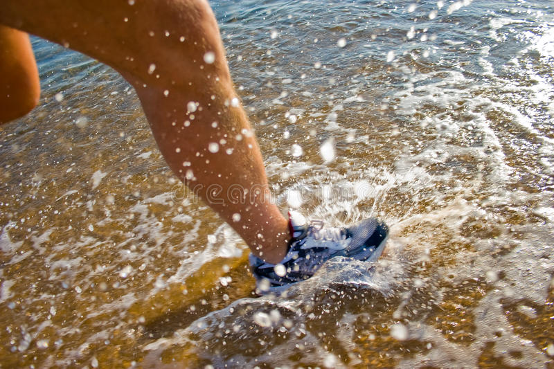 Download Water Run stock image. Image of track, blur, exercise - 14900071