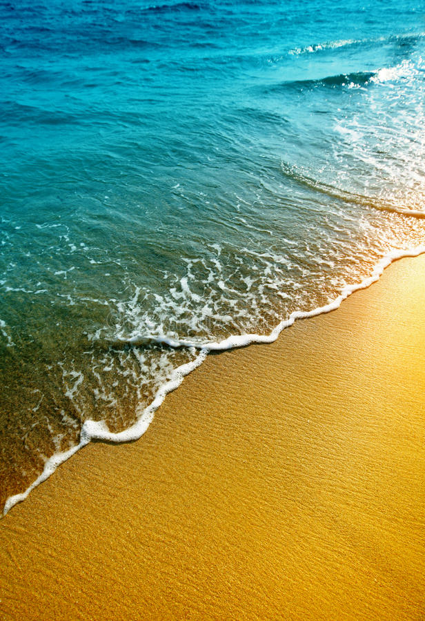 Download Water and sand stock image. Image of sand, landscape - 20927981