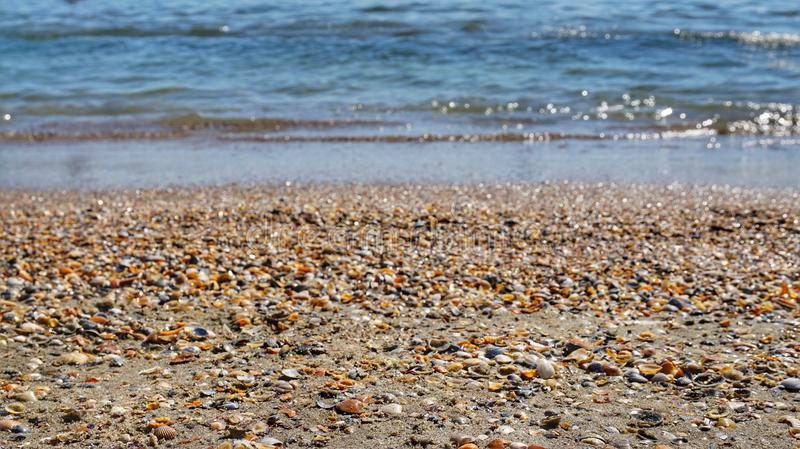 water and sand royalty free stock photo