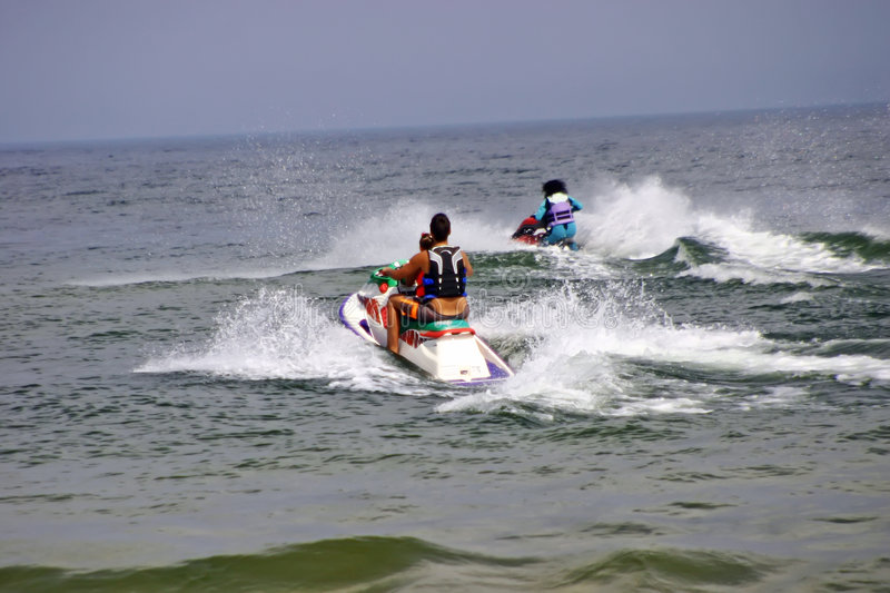 Download Water Scooters or jet skis stock photo. Image of summer - 3038046