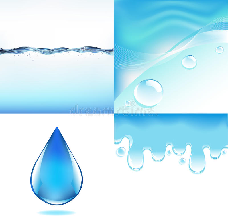 Free Water Set Royalty Free Stock Photography - 18177787
