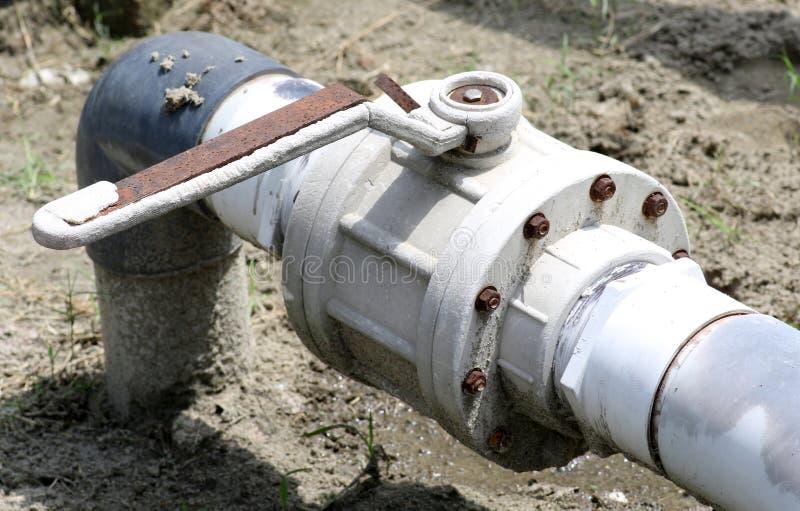 Water shut valve royalty free stock image