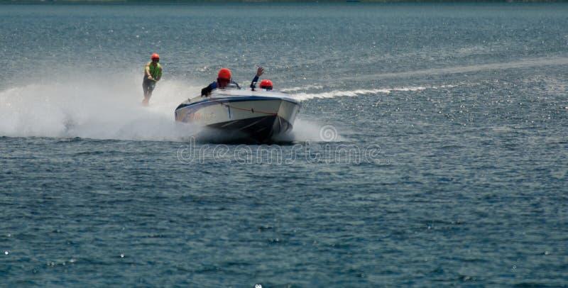 Water Ski Racing stock fotografie