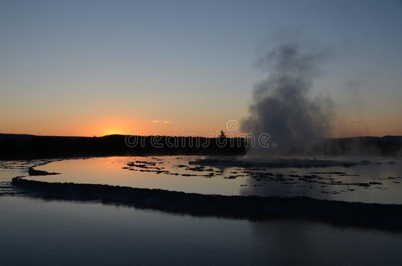 Water, Sky, Reflection, Dawn stock photo