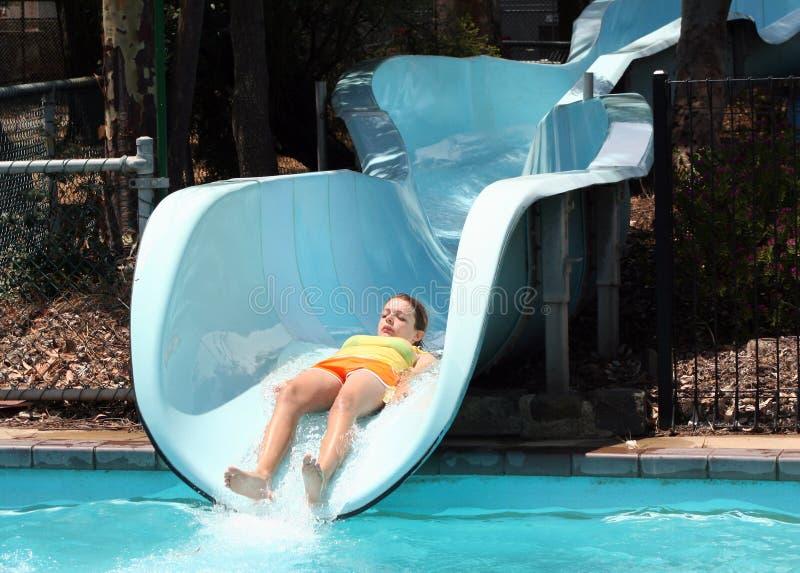 Water slide royalty free stock photos