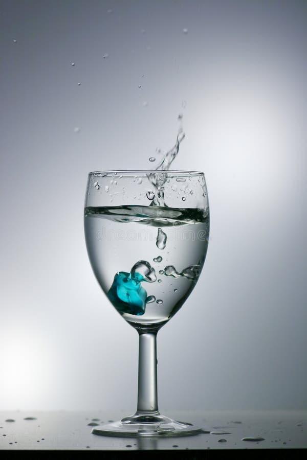 Download Water splash stock photo. Image of cube, drop, glass, water - 11300