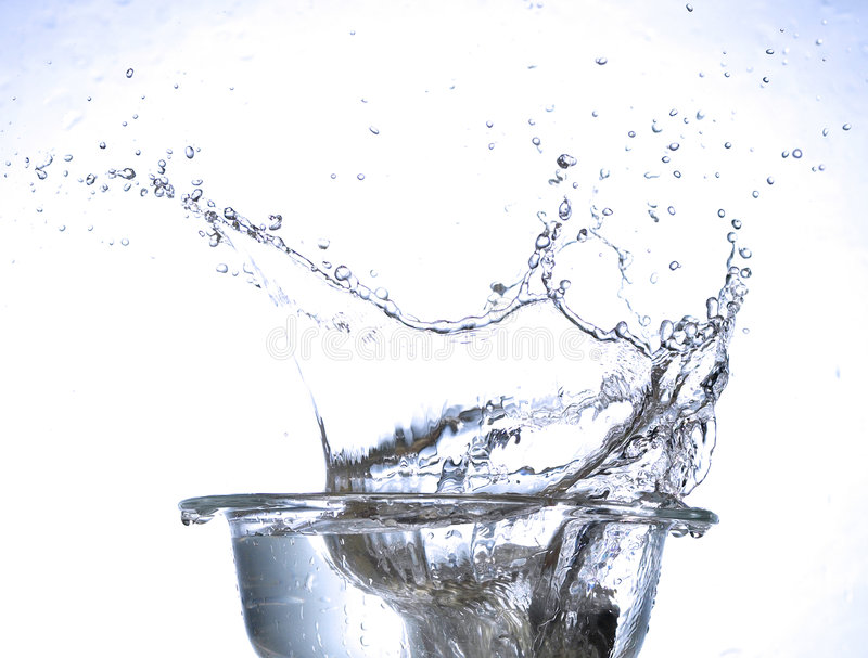Download Water splash stock image. Image of water, movement, clear - 1896861