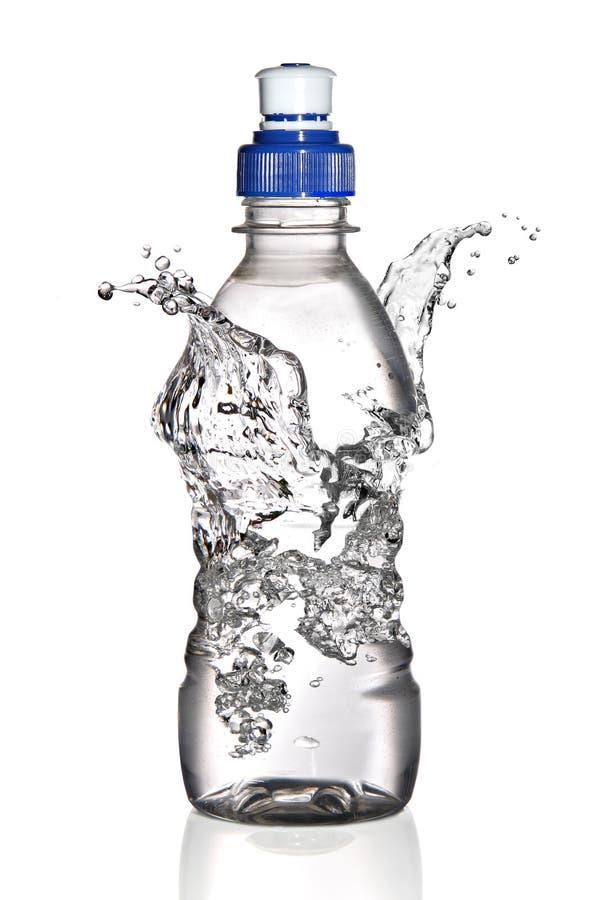 Download Water Splash Around Bottle (concept) Stock Photo - Image: 16667494