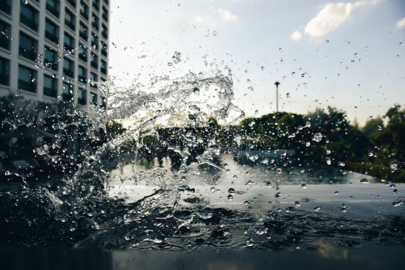 The Water splash stock photography