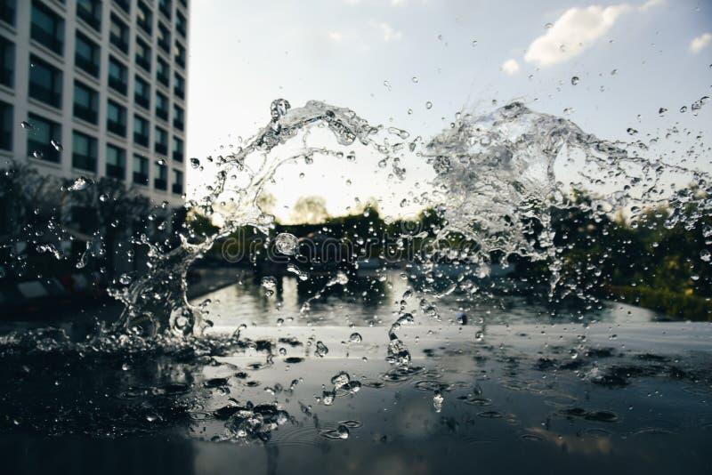 The Water splash royalty free stock image