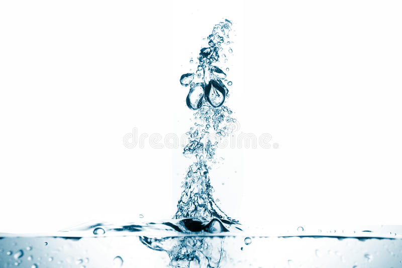 Download Water Splash Isolated On White Background Stock Photo - Image: 30998200