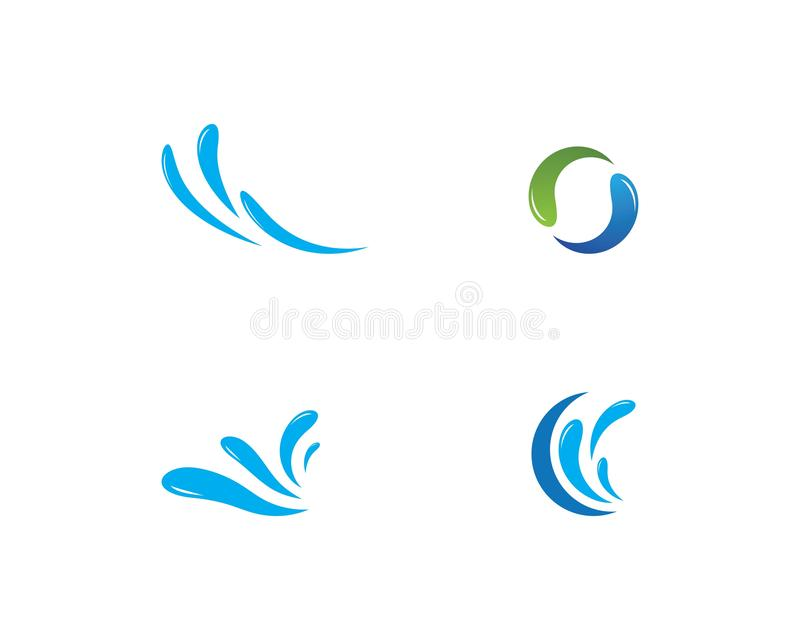 Water Splash logo vector. Ilustration vector illustration