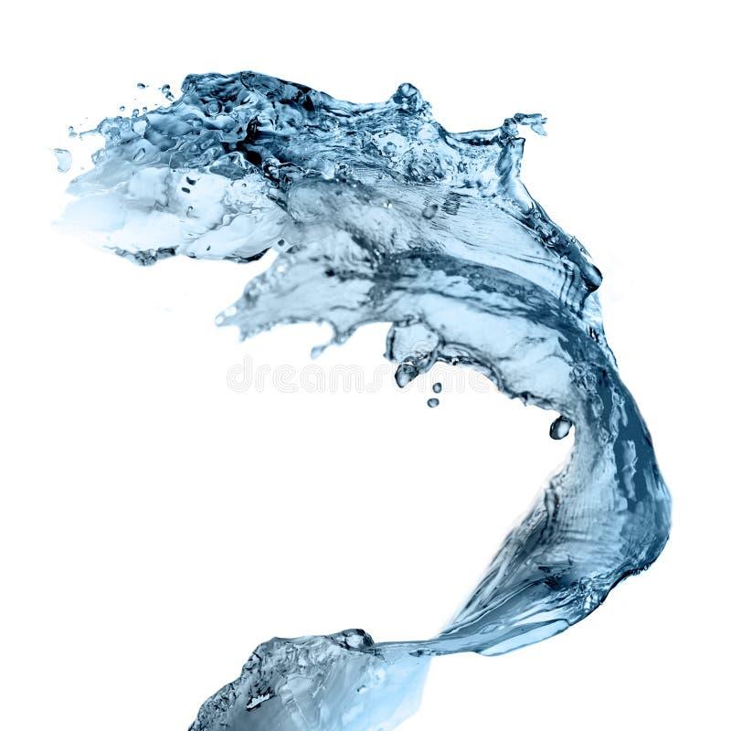 Download Water splashing stock illustration. Image of natural - 12791319