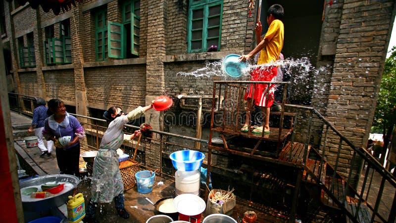 Download Water-splashing Festival Editorial Stock Image - Image: 7170319