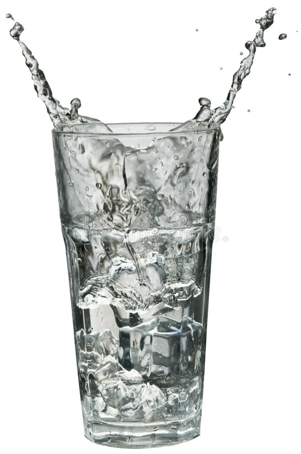 Download Water Splashing Out Of A Glass Stock Photo - Image: 18863742
