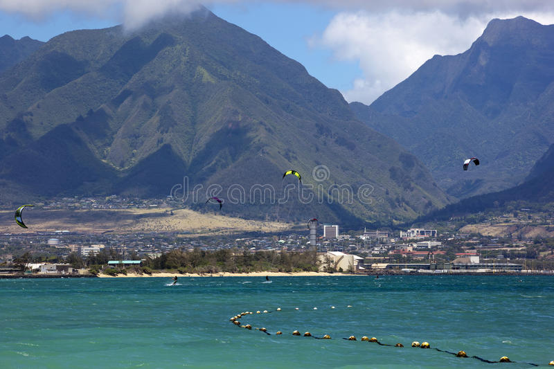 Download Water Sports stock image. Image of maui, breeze, ocean - 27187957