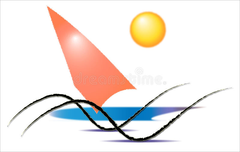 Water sports, surfing royalty free stock photos