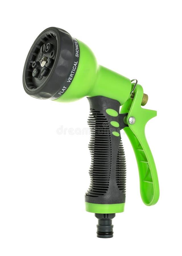 Water spray gun nozzle royalty free stock photos