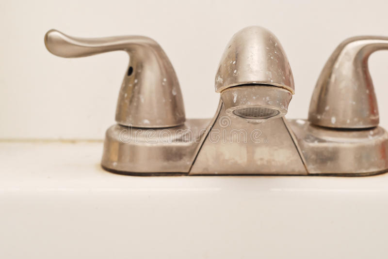 Download Water Stained Faucet Stock Photo - Image: 22055160