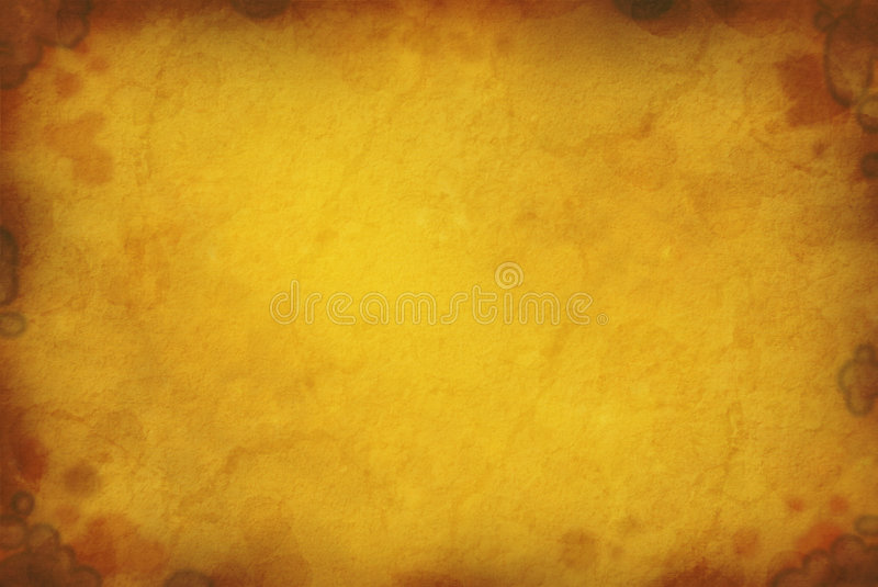 Water Stained Paper royalty free stock photos
