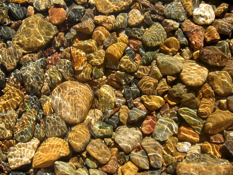Water & stone royalty free stock photo