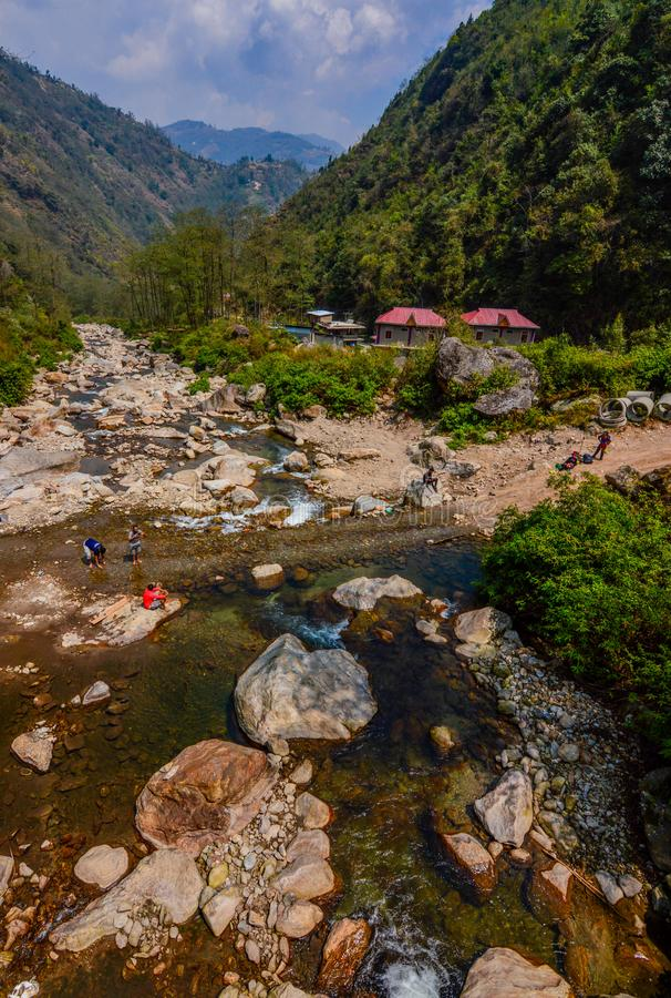 Valley of Sepi, west bengal royalty free stock photo