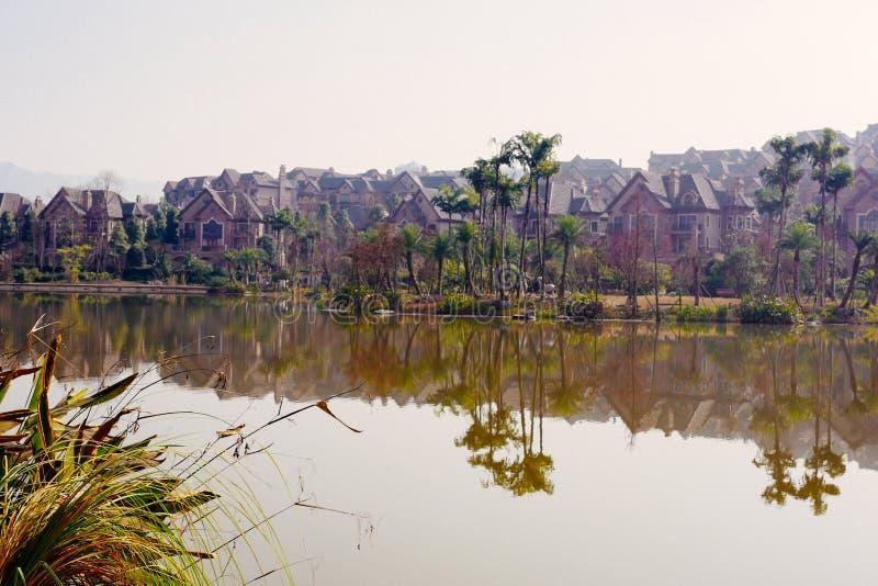 Water street, Xiuhu lake garden royalty free stock photography