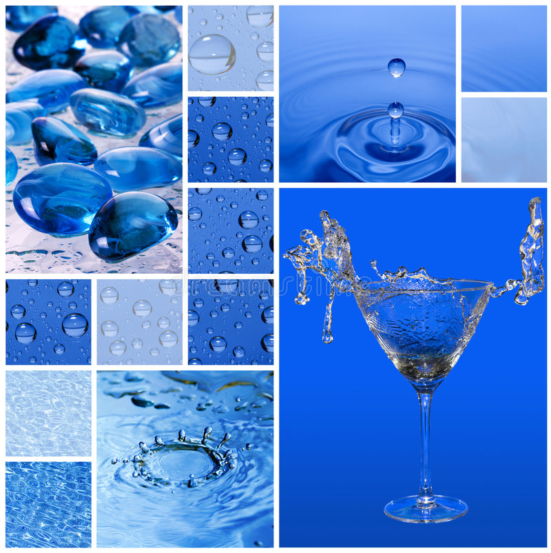 Water style royalty free stock images