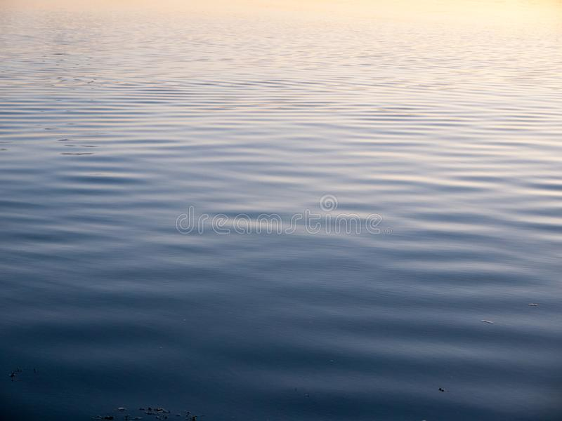 Water surface blue ripple wave textures ocean stock image