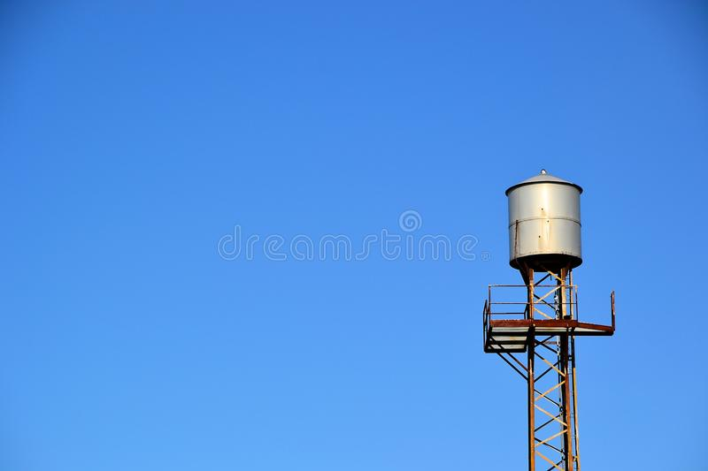 Download Water tank stock image. Image of containers, desert, clouds - 28507573