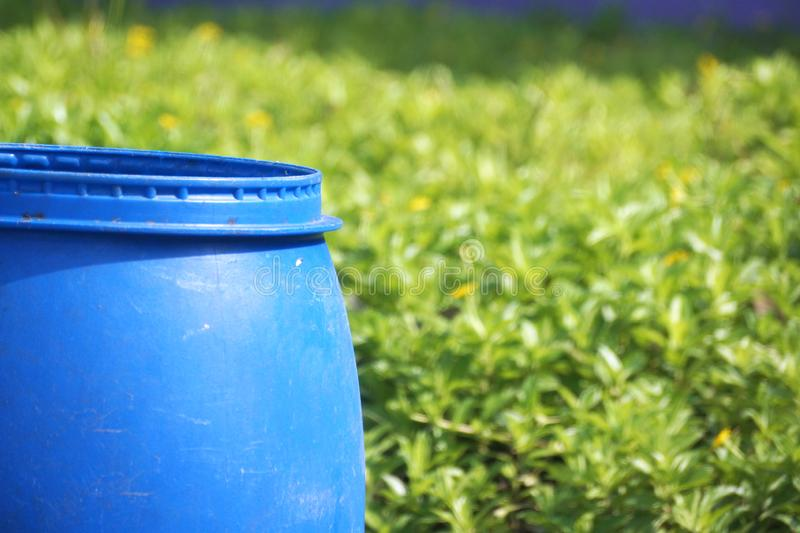 Water tank for garden royalty free stock image