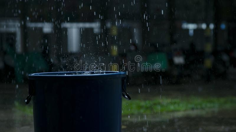 Water tank to store water. royalty free stock photography
