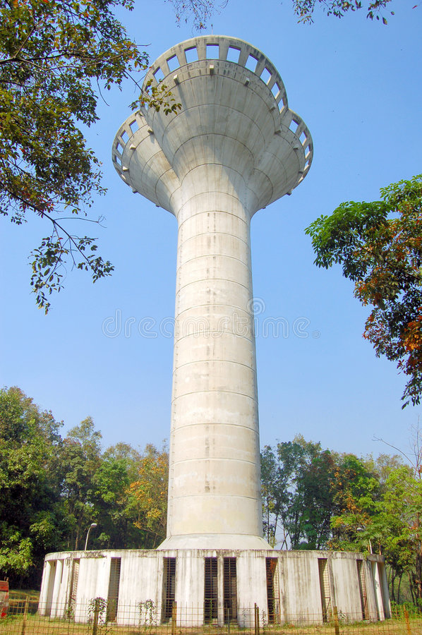 Download Water Tank Tower stock image. Image of landscape, west - 1090423