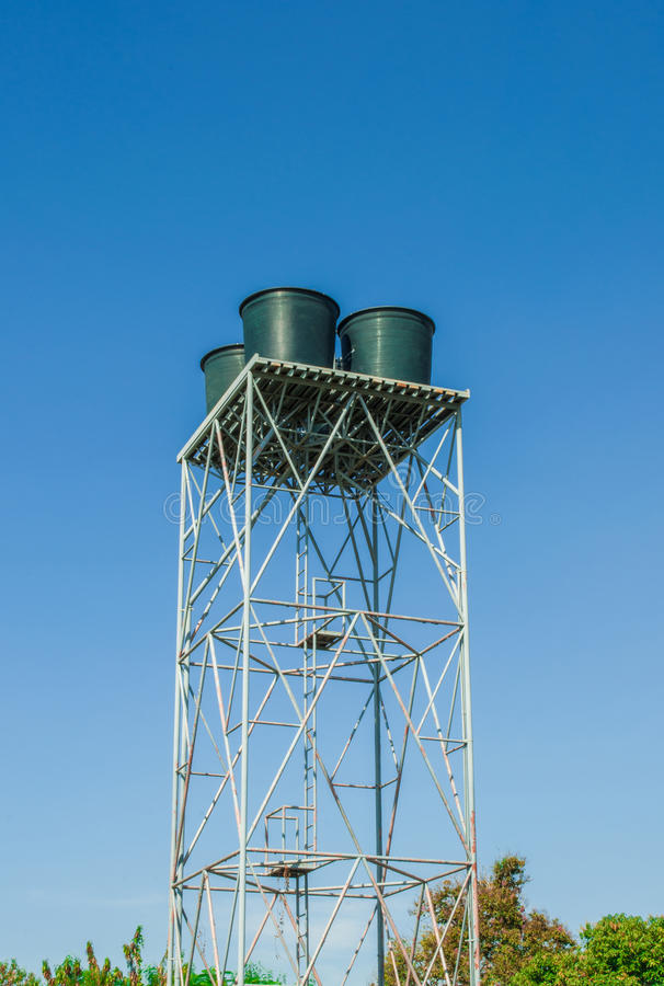 Download Water tank tower stock image. Image of storage, supply - 27420951