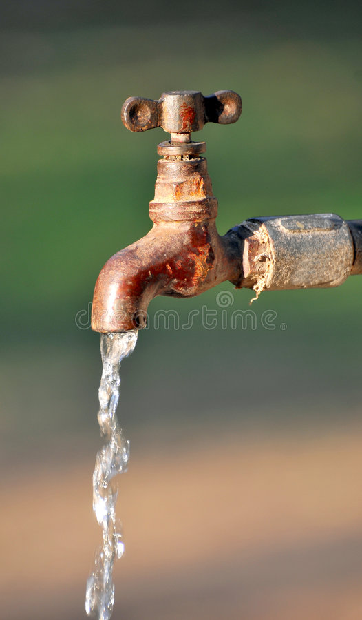 Free Water Tap Royalty Free Stock Photo - 8664745
